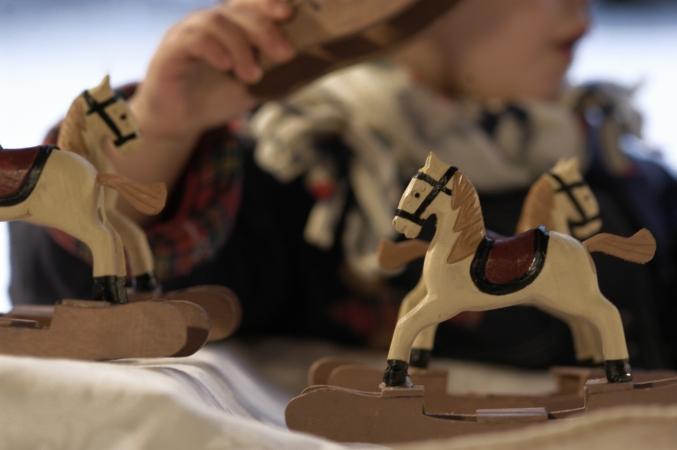 cavallini giocattolo - Eleonora Raggi