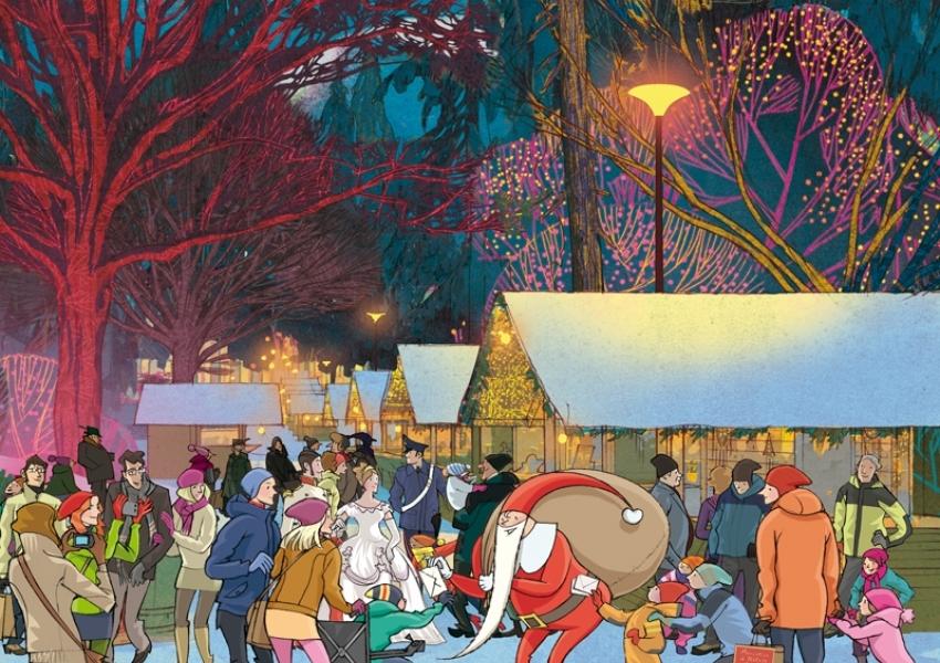Immagini Per Il Natale.Mercatino Di Natale In Trentino A Levico Terme Trentino
