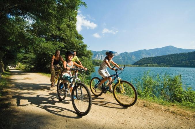 bike-sul-lago-di-levico